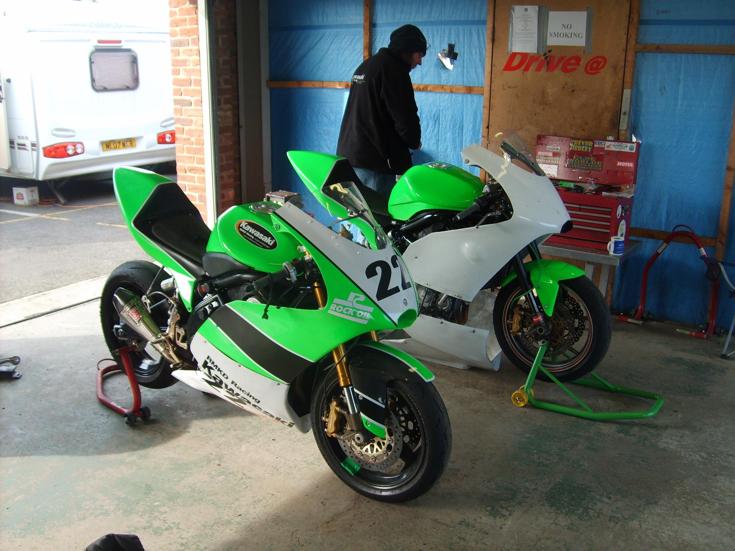 David Bell Motorcycle Racing Season Starts At Croft For 2012 Race